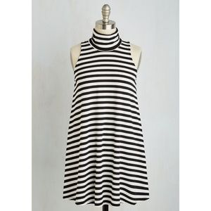 Modcloth Ease to Meet You Striped Tunic